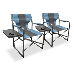 Elite Director's Folding Camping Chair (Set of 2)
