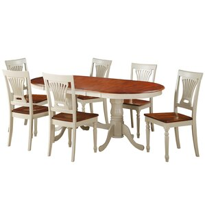 Bateson 7 Piece Solid Wood Dining Set by ..