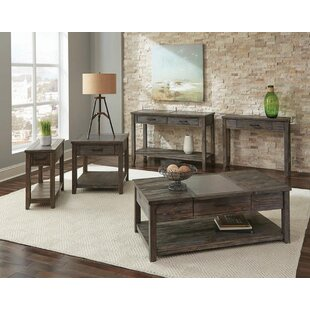 Gracie Oaks Salerno 5 Piece Coffee Table Set