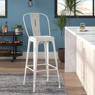 Ashlyn Metal 29.5 Bar Stool Williston Forge