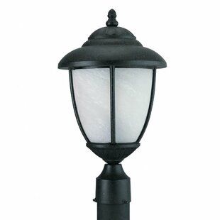 Price Check Benslimane Outdoor Post Lantern By Bloomsbury Market