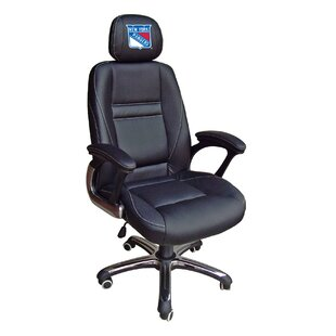 Tailgate Toss NHL Leather Desk Chair