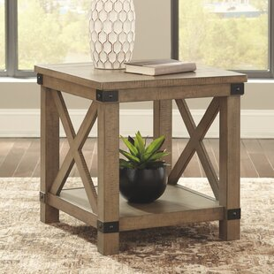 Bromborough End Table by Gracie Oaks
