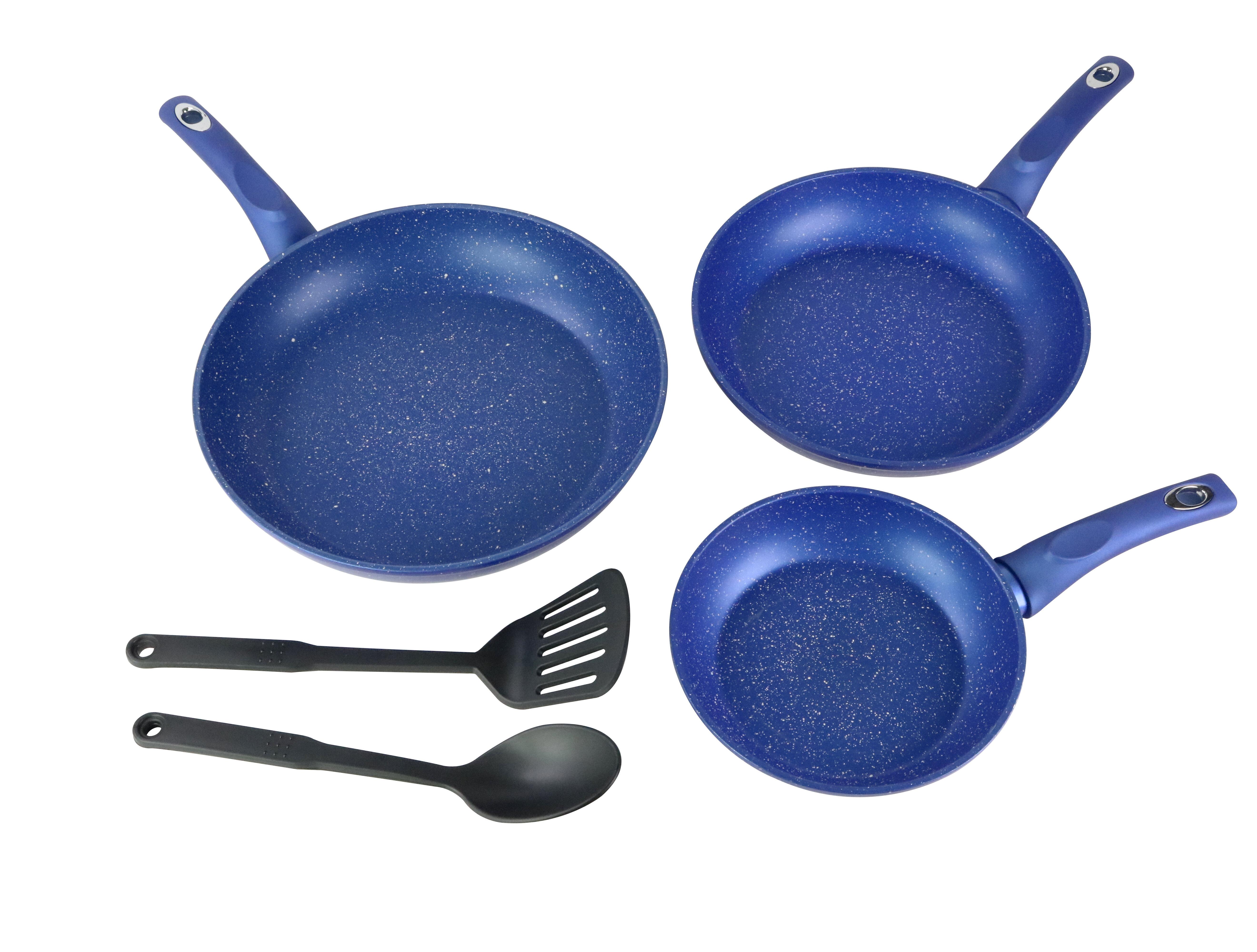 Cookinex 3 Piece Aluminum Non Stick Fry Pan Set Wayfair