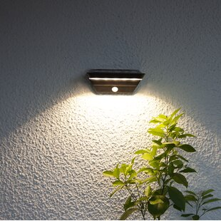 Levitt LED Solar Outdoor Sconce With Motion Sensor By Sol 72 Outdoor
