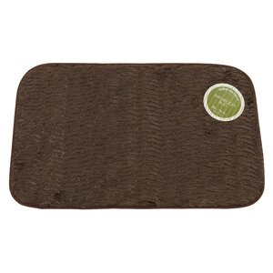 Sable Faux Fur Bath Mat