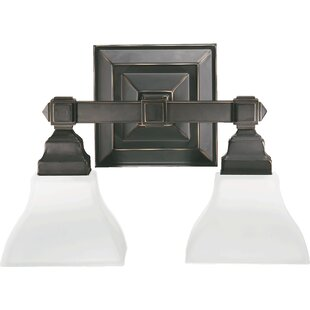 Top Reviews Eriksen 2-Light Vanity Light By Winston Porter