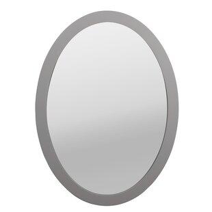 Framed Oval Bathroom Mirrors Wayfairca