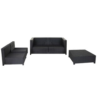 Bartlesville 5 Seater Rattan Effect Sofa Set By Sol 72 Outdoor