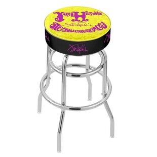 Jimi Hendrix 25 Swivel Bar Stool Holland Bar Stool