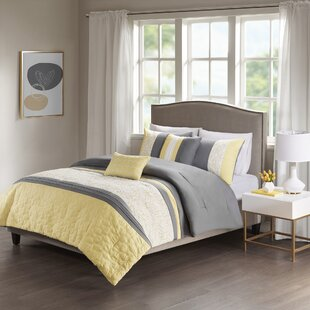 Glendale Embroidered 5 Piece Comforter Set