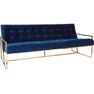 Goldfinger 2 Seat Sofa by Jonathan Adler