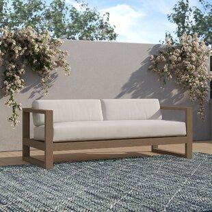 Abia Patio Sofa with Sunbrella Cushions