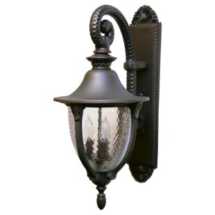 Savings Phillipstown 3-Light Outdoor Wall Lantern By Alcott Hill