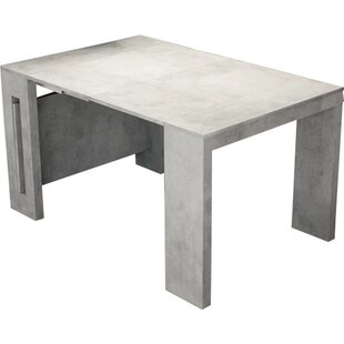 Earnest Concrete Extendable Dining Table by Orren Ellis