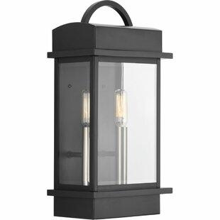 Bloomsbury Market Datura 2-Light Outdoor Wall Lantern