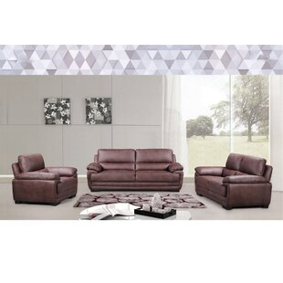 Rukadikar 3 Piece Living Room Set