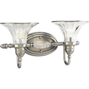Willa Arlo Interiors Edouard 2-Light Vanity Light