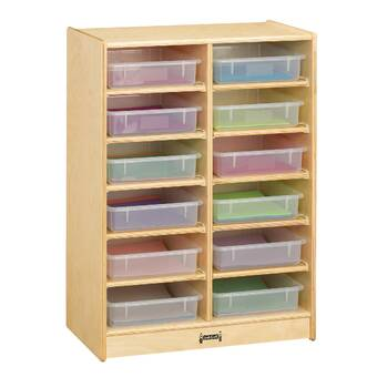 Whitney Bros Single 6 Compartment Cubby With Casters Reviews Wayfair