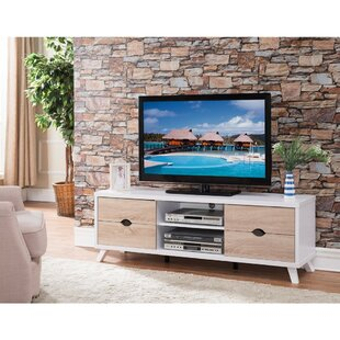 Ivy Bronx Cofer Modern 60'' TV Stand with Cutout Drawer Storage