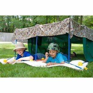 TooBeez EZ Fort 54 Piece Building Kit Play Tent