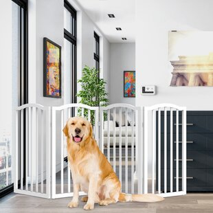 4 Panel Dog Gate Wayfair