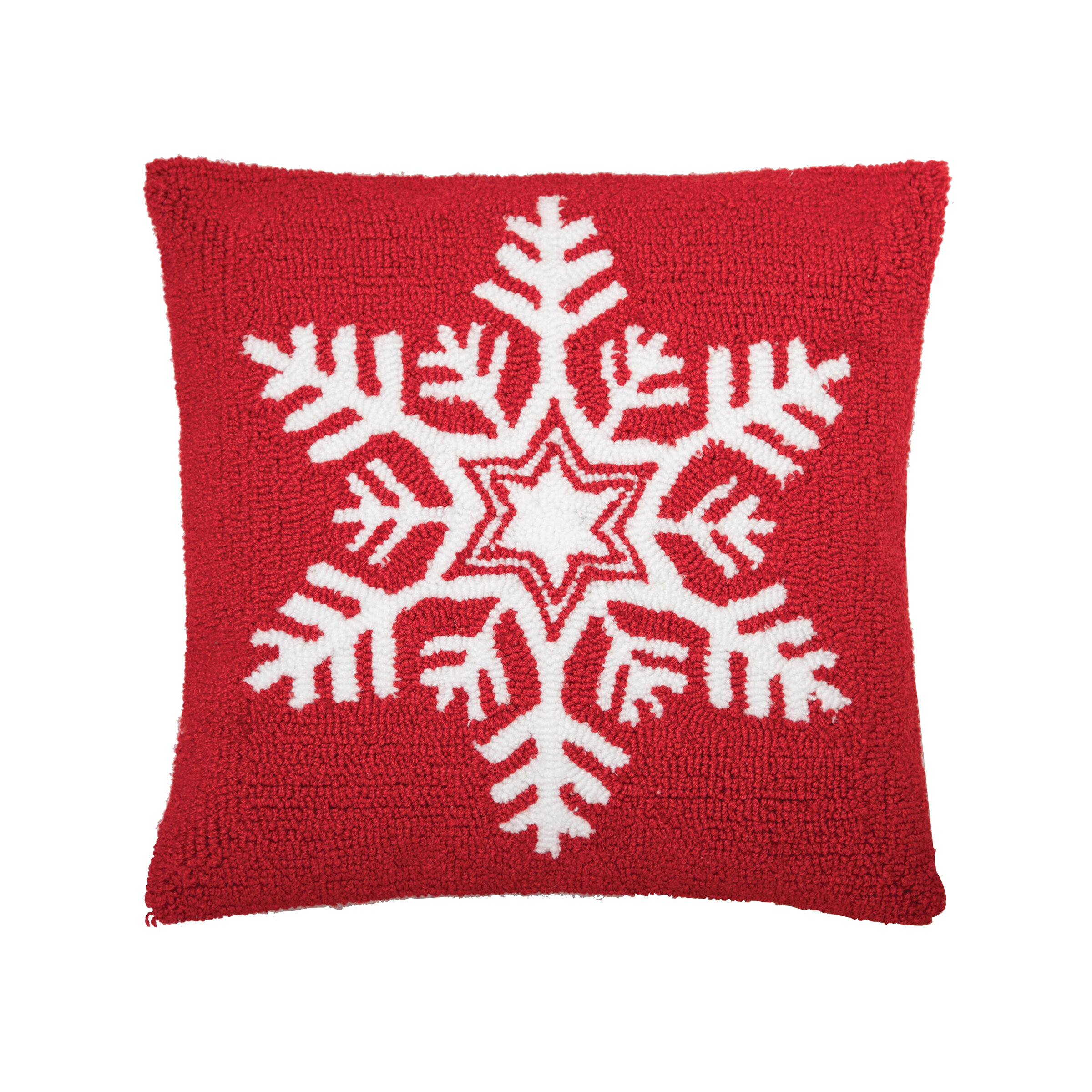 Picture of: Natural Red Burlap Christmas Pillow Holiday Dashing Through The Snow Sleigh Elipesa Com