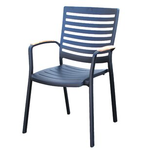 Quincy Teak Patio Dining Chair by Forever Patio