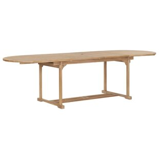 Azar Extendable Teak Dining Table By Sol 72 Outdoor