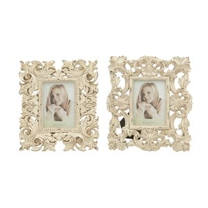 2 Piece Polystone Picture Frame Set (Set of 2)