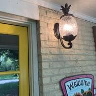 Beachcrest Home Kyra 1 Bulb 18 H Outdoor Wall Lantern Reviews Wayfair