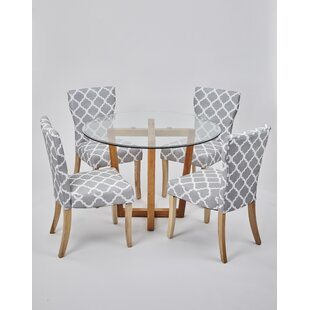 Best Price Hartwell Dining Set With 4 Chairs