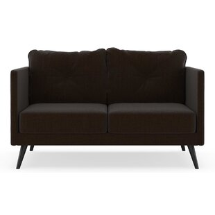 Schiavone Satin Weave Loveseat by Orren Ellis