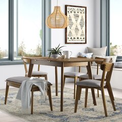 6 Piece Mid Century Modern Kitchen Dining Room Sets You Ll Love In 2021 Wayfair