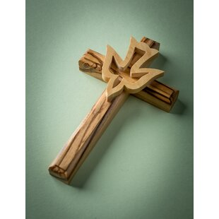 Wall Cross With Dove Wall Decor