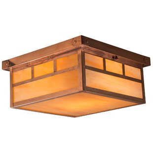 Loon Peak Edgao Double T Outdoor Flush Mount