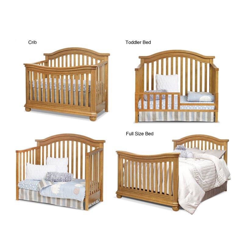 83f2dcade95 Vista Elite 4-in-1 Convertible Crib and Changer & Reviews   Birch Lane