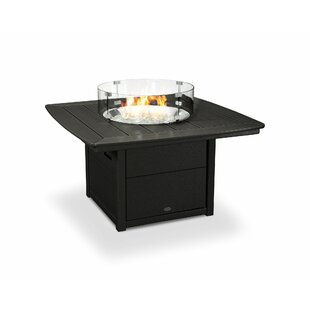 POLYWOOD® Nautical Natural Gas Tabletop Fireplace