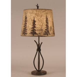 Rustic Living Iron Stack 24 Table Lamp