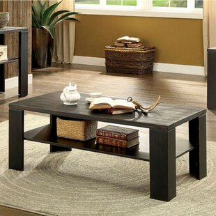 Wegman Coffee Table with Storage by Millwood Pines