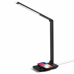 Symple Stuff Barberton Wireless Charge Adjustable LED 27.8
