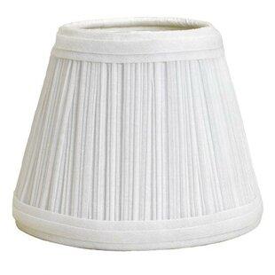 Mushroom Pleat 12 Linen Empire Lamp Shade