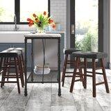 Arwel Bar & Counter Stool (Set of 4) by Latitude Run®
