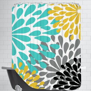 Online Reviews Spring Shower Curtain ByEast Urban Home