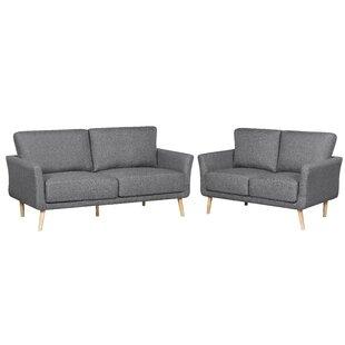 Joanne 2 Piece Living Room Set by Ebern Designs