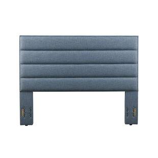 Latitude Run Penwell Upholstered Panel Headboard