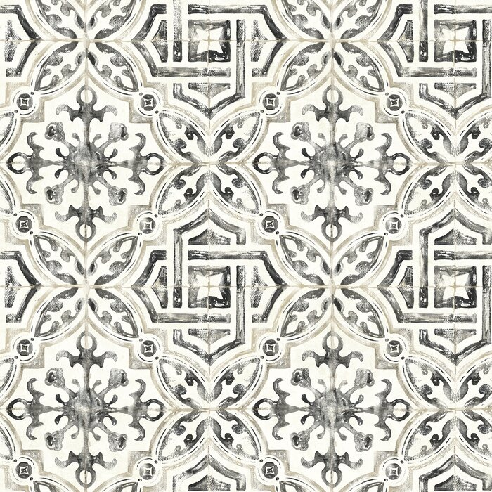 Jovanny Spanish Tile 33 L X 20 5 W Geometric Wallpaper Roll