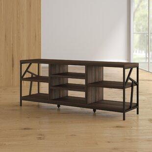 Mercury Row Derwood Metal Distressed Storage Console Table