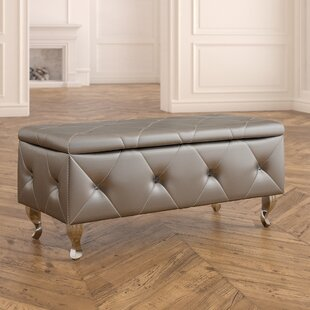 Victoria Upholstered Storage Bench House of Hampton