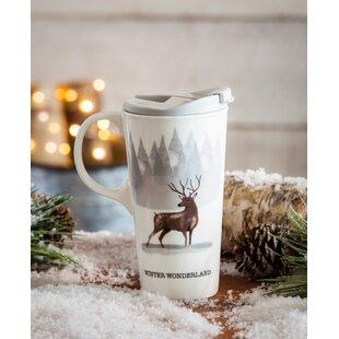 Laurel Winter Wonderland Travel Mug